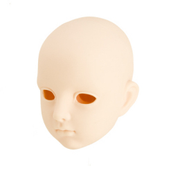 taobao agent [OB]65cm open eyes 01 plain head【Whitening】[65HD-F01W] Japan Obitsu