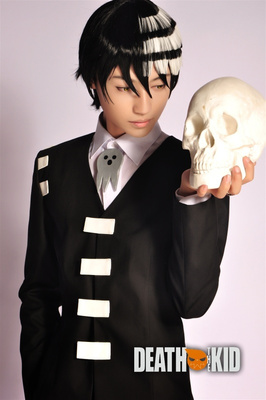 taobao agent ▋ Ni clothing shop ▋ Soul Eater DEATH KID Son of Death COS clothes