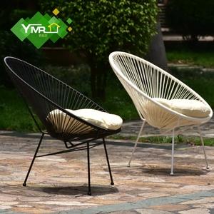Ngoài trời đồ nội thất patio biệt thự vườn ban công sắt rèn bàn ghế sáng tạo trứng ghế đơn giản hiện đại giải trí ghế Châu Âu và Mỹ