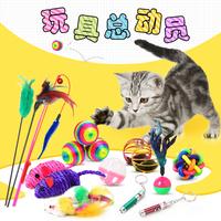 Спайк забавный котик палка игрушка для кота сам кошка котенок забавный кот палка мята волшебная палочка перо мыши забавный кот род