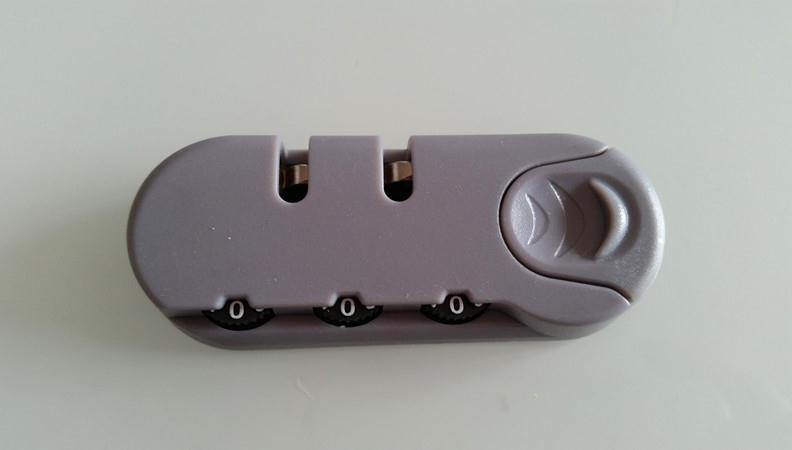 Hành lý kết hợp khóa đàn hồi khóa da vali trường hợp lên máy bay pu vải vali cố định kết hợp khóa sửa chữa phụ kiện sửa chữa - Phụ kiện hành lý