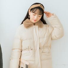 【6450#不低于189】毛领棉服女加厚保暖棉衣冬款袄子宽松开衫