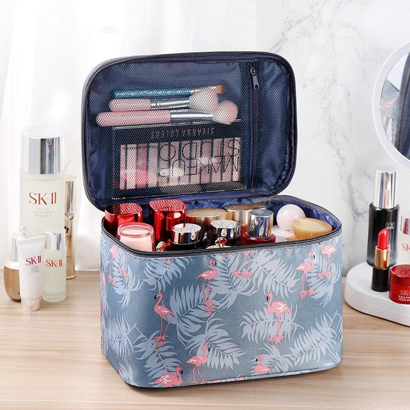 网红可爱韩版化妆包大容量收纳包便携