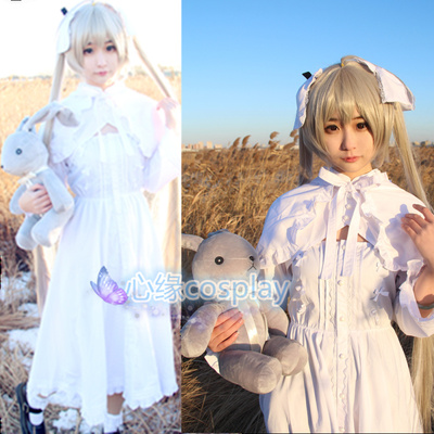 taobao agent Spot edge of the sky spring day wild dome cos clothing dome sister rabbit ear dress cosplay costume women's lolita skirt