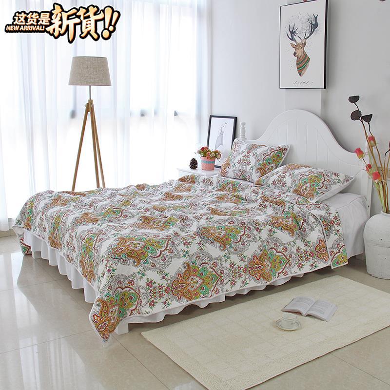 Khăn trải giường d đơn mảnh Phong cách Hàn Quốc hộ gia đình duy nhất tấm trải giường dày tấm giường đơn tấm ga trải giường châu Âu đơn mảnh - Trải giường