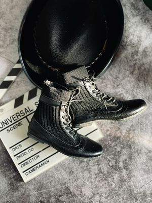 taobao agent Uncle's bjd baby uses shoes, socks, short boots, 3 points and uncle's size soft leather boots fit the foot