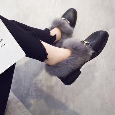 2017年秋冬新款保暖加绒新款女鞋BB8533