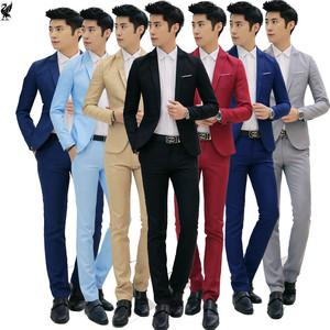 Người đàn ông tốt nhất nhóm ăn mặc của nam giới mùa hè mỏng phù hợp với phù hợp với thanh niên mùa hè Hàn Quốc phiên bản của tự trồng giản dị phù hợp với đẹp trai