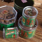 Đài Loan đầy đủ nhà thơm đen cống hương thơm cuộn dây trong suốt đóng hộp 1 2 4 giờ cho thơm nguồn cung cấp tôn giáo