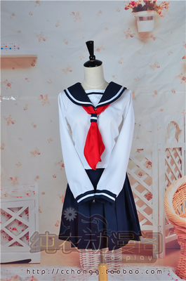 taobao agent 【March 8th Alliance】Humanoid computer angel heart cos Xiaoji Kagura 3Z sailor suit cosplay