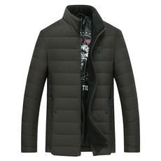 男士羽绒服 短款立领青年冬季羽绒外套保暖防寒时尚9925