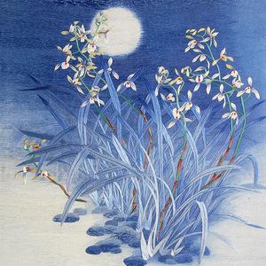 Nổi tiếng cổ thêu nghệ thuật thêu thêu diy kit người mới bắt đầu handmade sơn trang trí orchid grass 35 * 35 CM