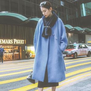 S phụ nữ gốc của mùa thu và mùa đông 2017 mới dài dài tay áo len len