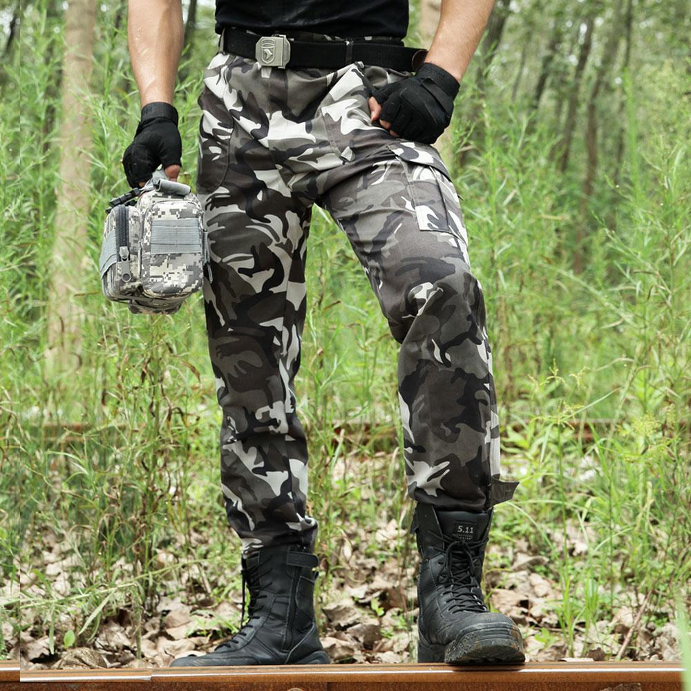 Ngỗng ngụy trang ngụy trang quần Lá Chắn Lang đích thực ngoài trời quân đội fan nguồn cung cấp quần áo fan quân đội quần yếm quần đặc biệt yếm quần