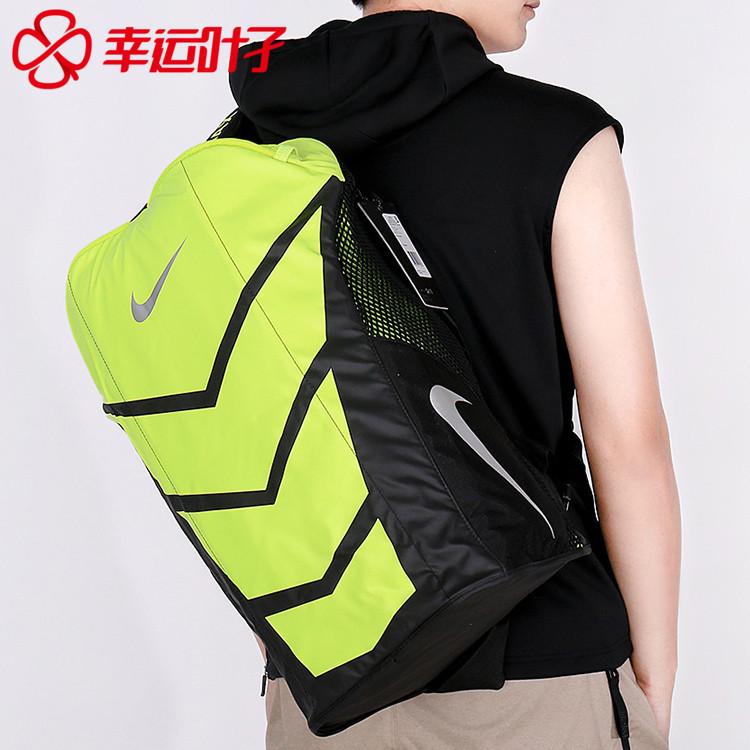 Lá may mắn của Nike túi người đàn ông của phụ nữ 2017 mùa thu thể thao túi túi trống túi du lịch ngoài trời BA5249-010