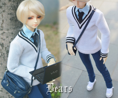 taobao agent ◆Bears◆BJD baby clothes A101 college style suit-senior model 4 points into the detachable 1/4&1/3&uncle