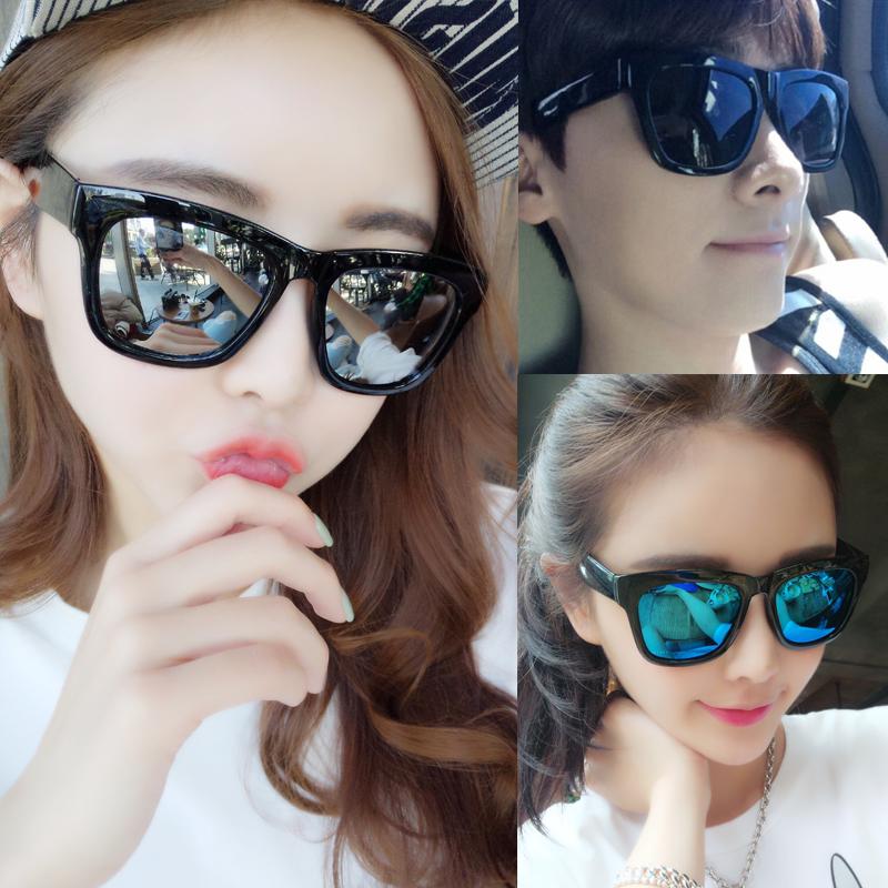 墨镜女ZY1K2018男韩国新款明星太阳镜女近视圆脸民族风大框眼镜装