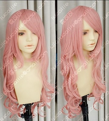 taobao agent Sell like hot cakes! Magnet patrol LUKA high temperature silk tobacco powder 80cm water pattern roll cos wig