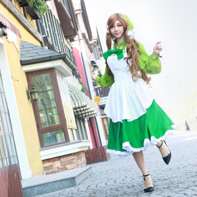taobao agent 【March 8th Alliance】Hetalia aph cos Elizabeth cosplay maid outfit