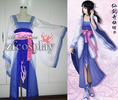 taobao agent Legend of the Sword and Fairy 4 Liu Mengli Qionghua costume cos costume female antiquity photo cosplay anime costume