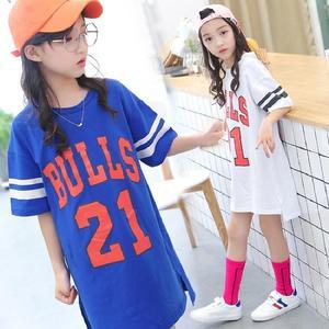 2018夏季韩版新款字母印花中长款棒球服连衣裙