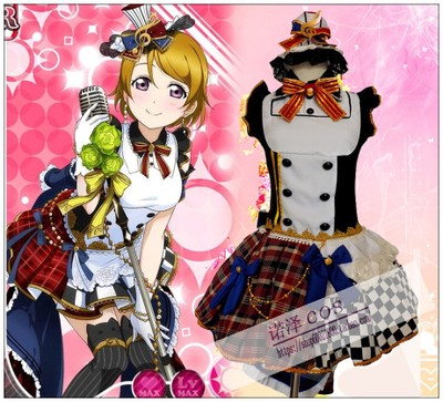 taobao agent Spot【LoveLive!】September Maid Awakens SR Koizumi Hanayo COSPLAY costume