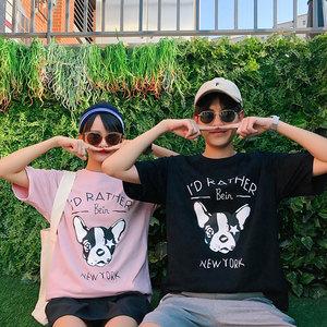 男装类目 2018新款情侣装夏装卡通印花短袖T恤衫 A358-1208-P38