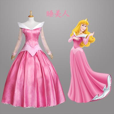 taobao agent Butterfly House Grimm's Fairy Tale Disney Disney Sleeping Beauty Arlo Princess Dress Costume Cosplay Costume