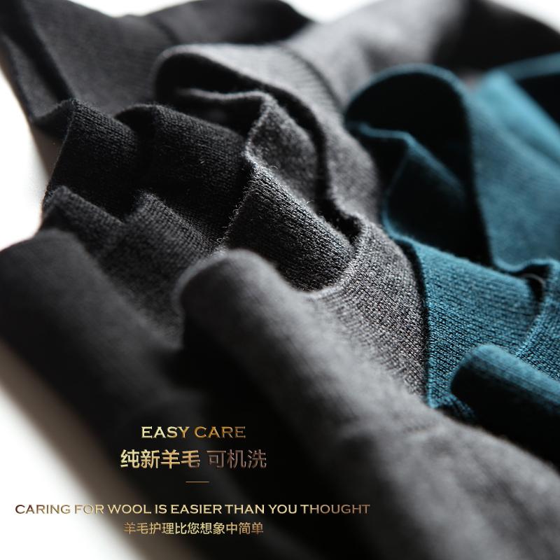 Cửa hàng mô hình ngôi sao mùa thu và mùa đông sản phẩm mới có thể được máy rửa sạch dễ dàng để quản lý đầu len mới phần mỏng đan