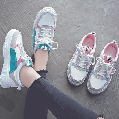 小白鞋女休闲chic街拍板鞋