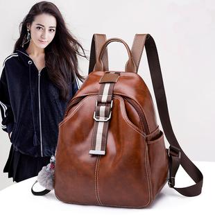 旅行包女包尼龙帆布双肩背包书包