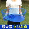 特大号龟缸乌龟缸带晒台塑料开放式大型塑料盒子巴西龟宠物龟窝