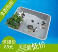 小型生态乌龟缸 龟盒 龟池 龟箱 塑料养殖箱 水龟苗箱 乌龟养殖池