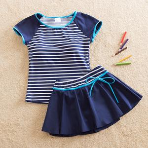 Nữ cậu bé lớn chia áo tắm váy bảo thủ loại 12 cô gái đồ bơi sinh viên boxer áo tắm 13 cô gái Hàn Quốc phiên bản 15 tuổi