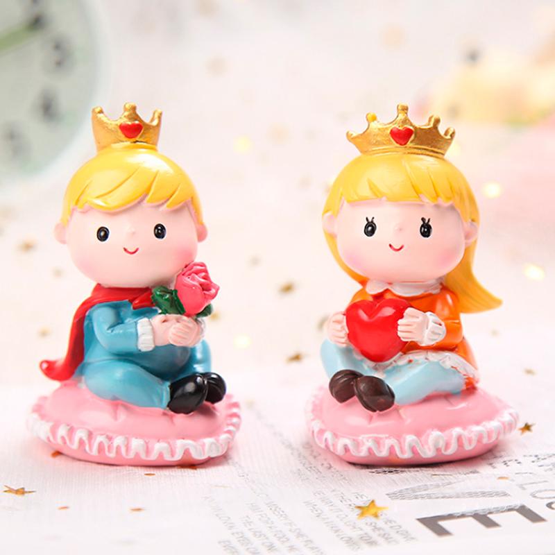 暖心王子爱心底座皇冠公主