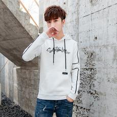 19新款男士青少年宽松韩版潮流衣服连帽卫衣224-1-6726-p35