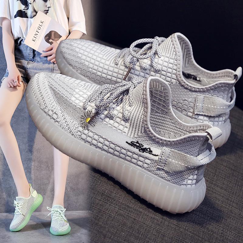 2020新款女鞋子潮流帆布鞋低幫韓版百搭女學生休閑運動鞋流行板鞋