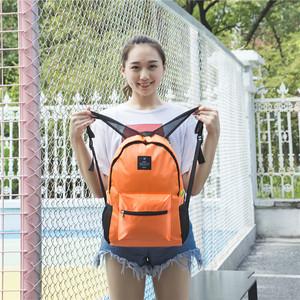 Có thể gập lại nam giới và phụ nữ công suất lớn dày ba lô túi lưu trữ du lịch ngoài trời học sinh tiểu học và trung học túi không thấm nước túi