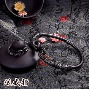 Cổ điển Nổi Móng Tay Vòng Đeo Tay Qi Tian Da Sheng Nam và Nữ Vài Sinh Viên Tôn Ngộ Không Vàng Hoop Wristband Quà Tặng