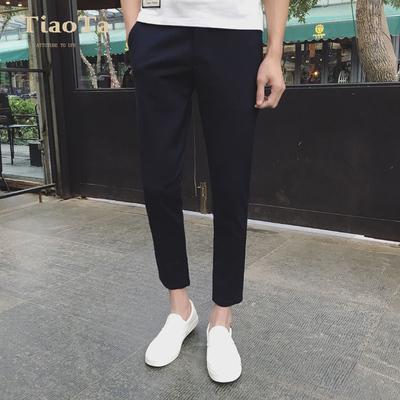 Mùa hè chín quần của nam giới thường quần xu hướng của nam giới thanh niên quần chân đen quần hoang dã 9 điểm quần nam