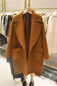 Chống mùa áo khoác nữ Dongdaemun dài áo len áo choàng lỏng raglan tay áo len áo giải phóng mặt bằng bán đặc biệt