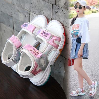 【巴歌熊】【正品保质量】2021夏季女童凉鞋女鞋中大童学生公主鞋优惠券领取