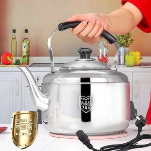 不锈钢电热水壶防干烧家用烧水壶电水壶