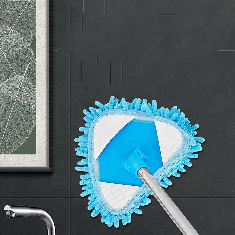 轻便小拖把迷你厨房瓷砖擦墙家用卫生间打扫墙面地天花板清洁神器