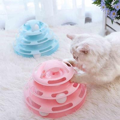 宠物猫玩具转盘逗猫转盘自嗨球逗猫球猫猫用品逗猫棒猫咪用品