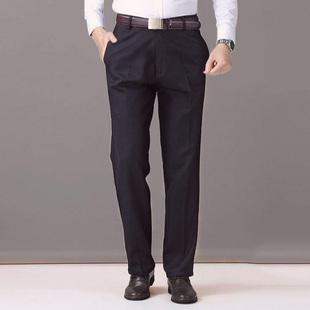 中老年男裤宽松男士休闲裤老年人裤子西裤