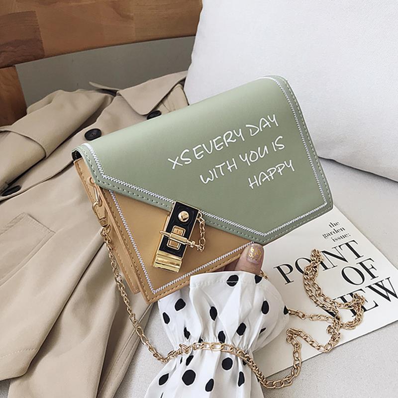 新款链条斜挎小包夏天百搭时尚韩版洋气质感