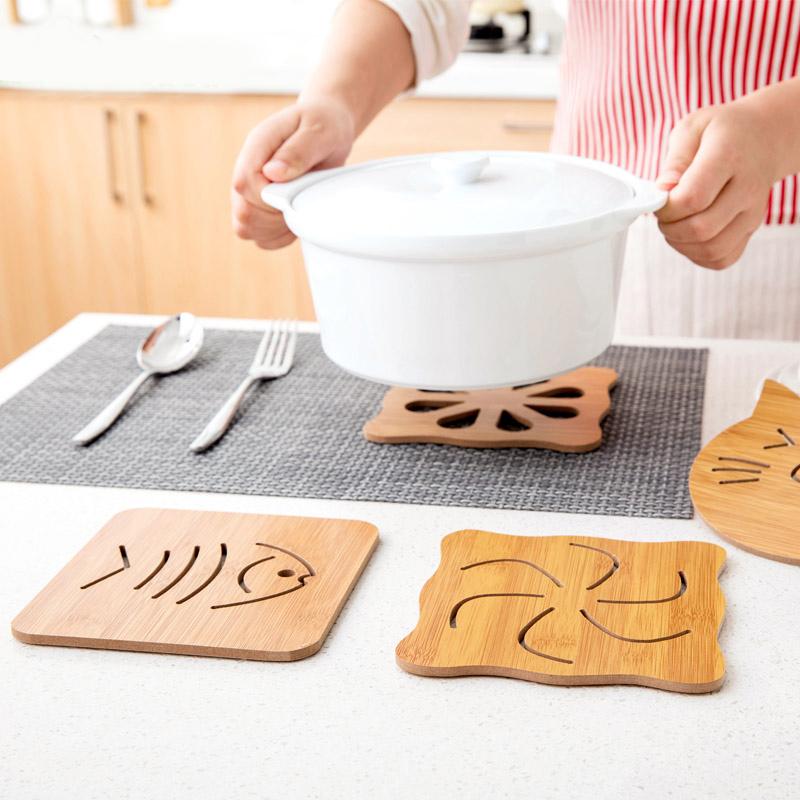 木质餐垫隔热垫创意餐桌垫盘子垫子-优惠后5元包邮