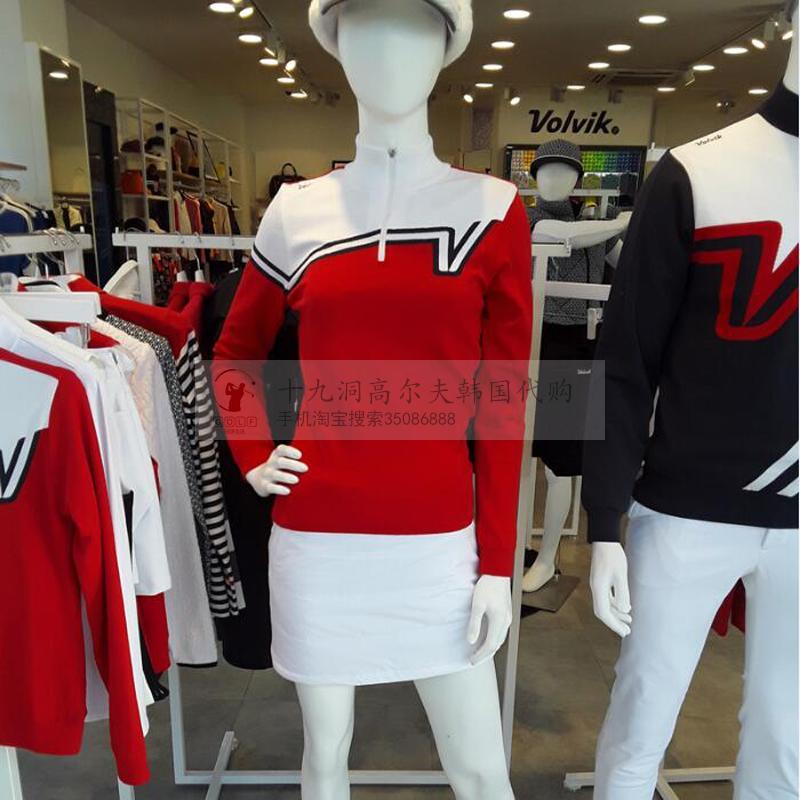 2017 mùa đông mới Hàn Quốc mua thương hiệu golf của phụ nữ ladies áo len golf thể thao áo len áo len
