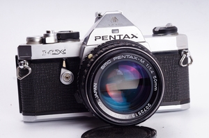 Pentax PENTAX MX cơ khí SLR kit 50 1.4 phim tối thiểu phim máy ảnh